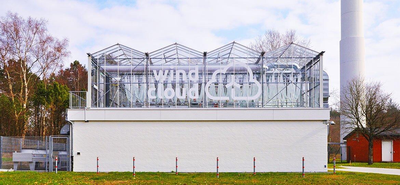 Windcloud — это уникальное сочетание энергии ветра и выращивания водорослей.