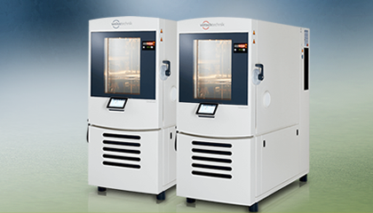 Environmental simulation–You can use our weisstechnik and vötschtechnik testing systems for the time-lapse simulation of all environmental influences in temperature, climate, corrosion and combined stress tests.