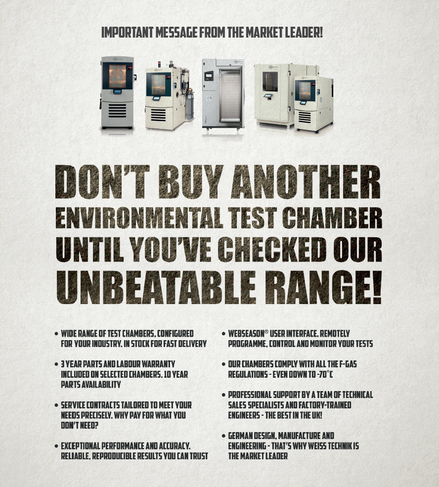 Don't buy another Environmental test chamber until you've checked our unbeatable range!