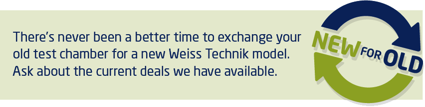 Here's why discerning businesses specify Weiss Technik ShockEvent for critical test measurements.
