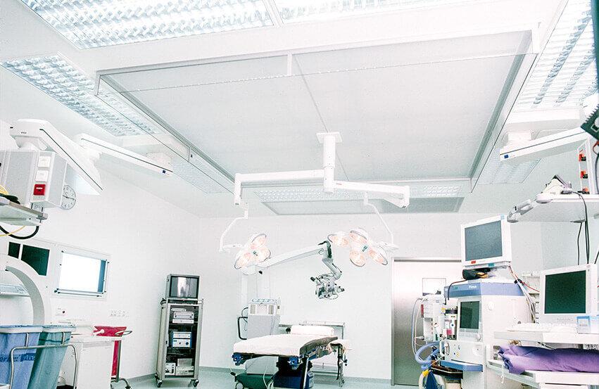 Épurateur d'air plafonnier pour salles d'opération Type ULA