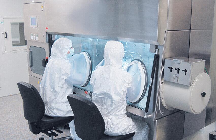Apotheken en laboratoria
