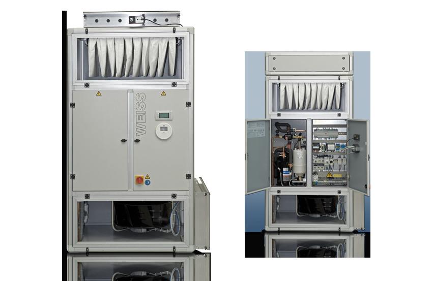 Компактный кондиционер для любых областей применения — от больниц до серверных Vindur Compact