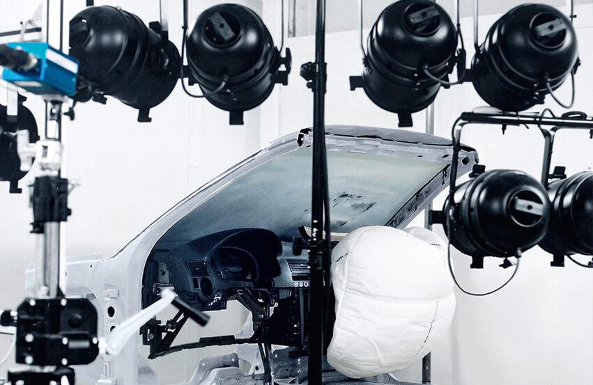 Airbag test system