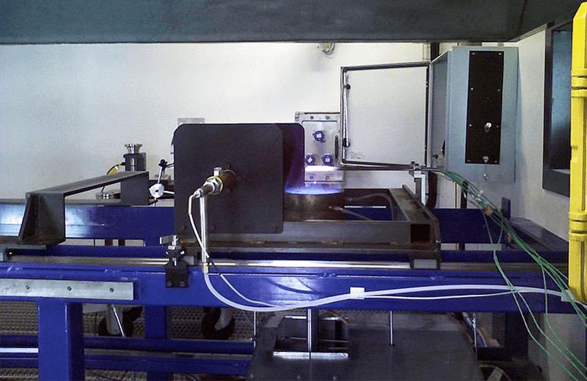 Пиротехническая испытательная платформа