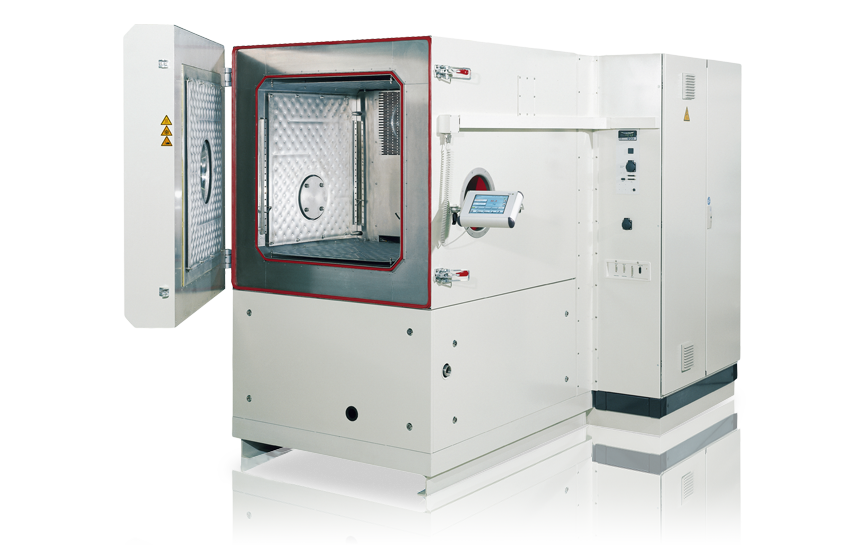 Vacuum test chambers VTH and VCH/WT-D and WK-D