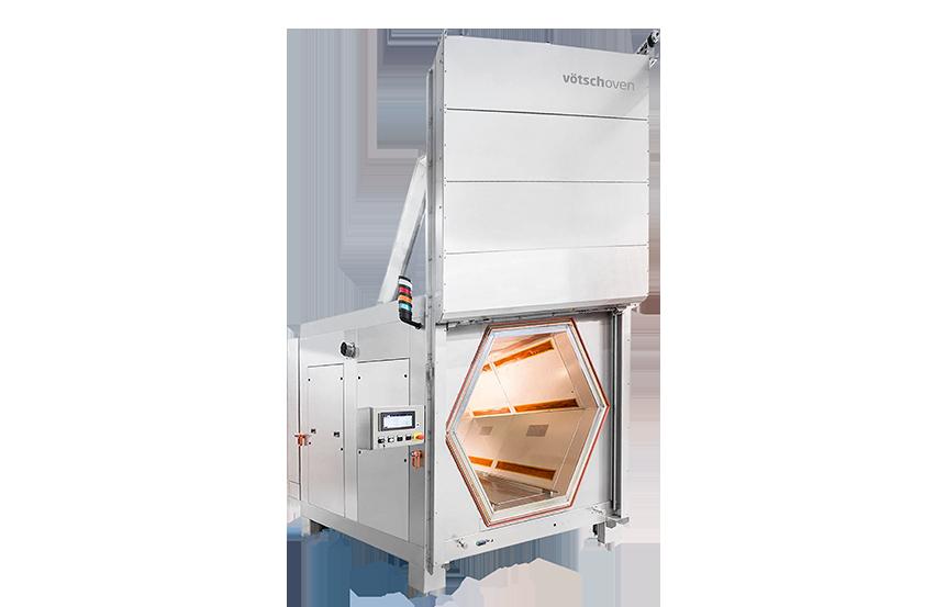 Industriële microgolfoven VHM Hephaistos - Gepatenteerde microgolftechnologie